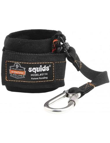 Opaska na nadgarstek Ergodyne Squids® 3114 ze smyczą i karabińczykiem