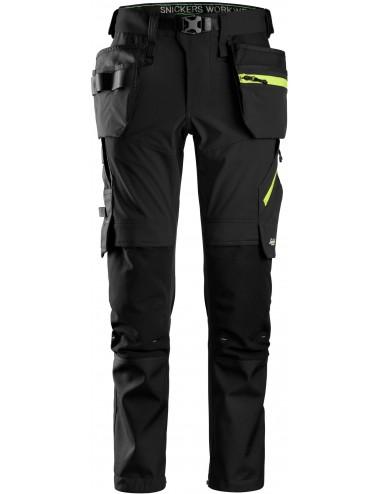 Spodnie Snickers 6940 Stretch FlexiWork+ z workami kieszeniowymi