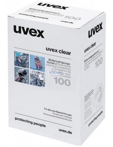 Chusteczki do okularów Uvex 9963.000 100szt.