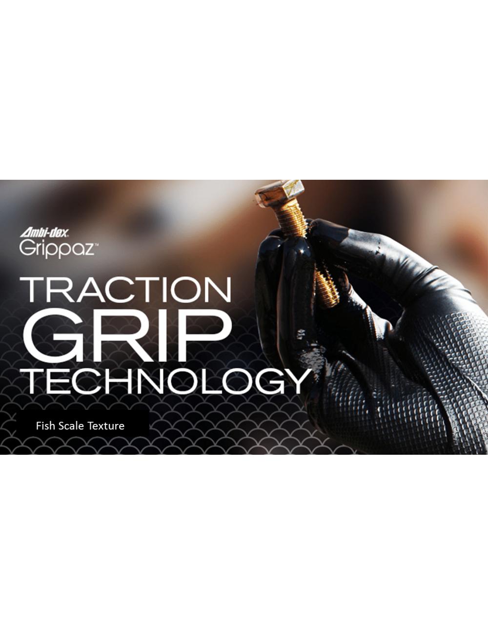 Rękawice nitrylowe Grippaz 246
