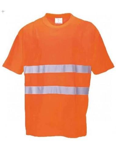 Koszulka S172 Portwest ostrzegawcza pomarańczowa