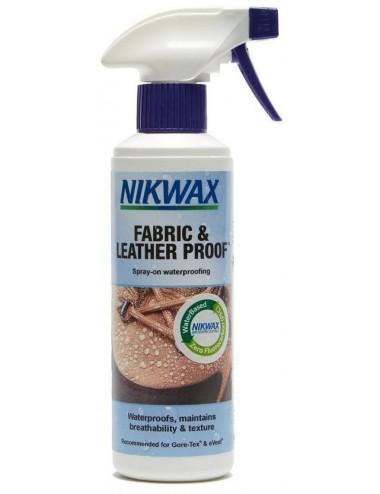 Impregnat NIKWAX tkanina i skóra 300ml