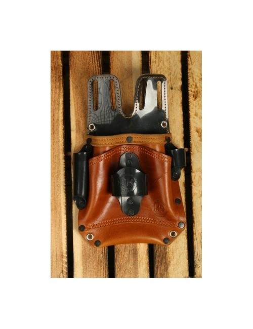 KM Leather kabura monterska skórzana