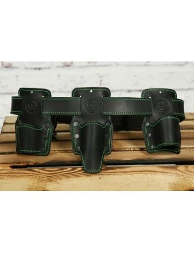 KM Leather pas monterski skórzany