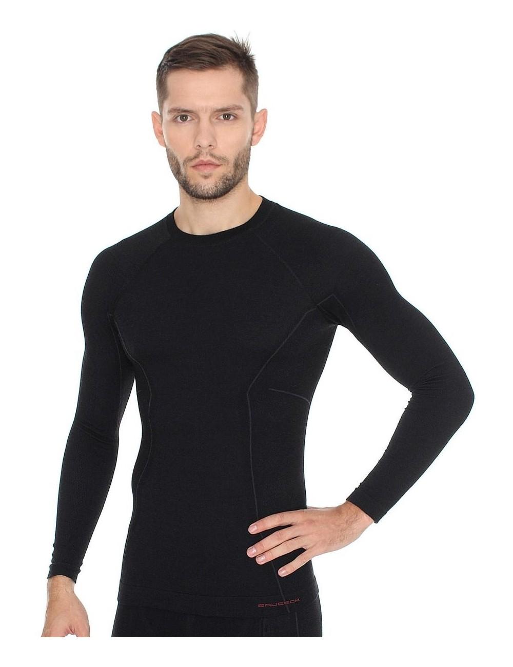 Koszulka męska Brubeck Active Wool