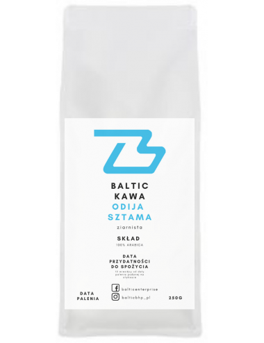Baltic Kawa ziarnista 100% arabica