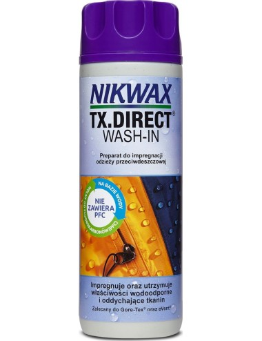 Impregnat NIKWAX NI-12 TX-Direct Wash-in do odzieży