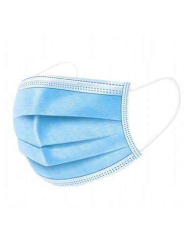 Maska jednorazowa trzywarstwowa higieniczna 10 szt