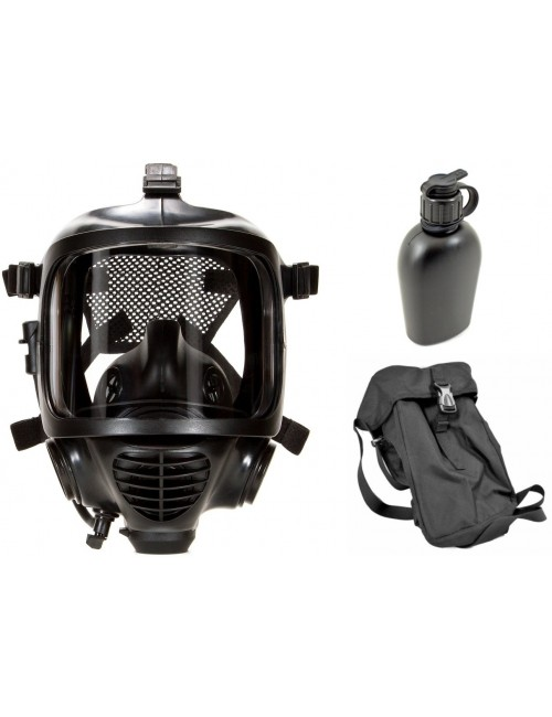 Zestaw ochronny CM-6M: maska pełnotwarzowa + butelka + pokrowiec