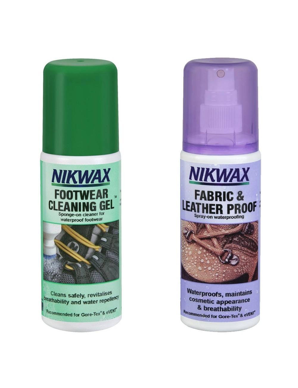 Zestaw NIKWAX impregnat + żel czyszczący 125ml