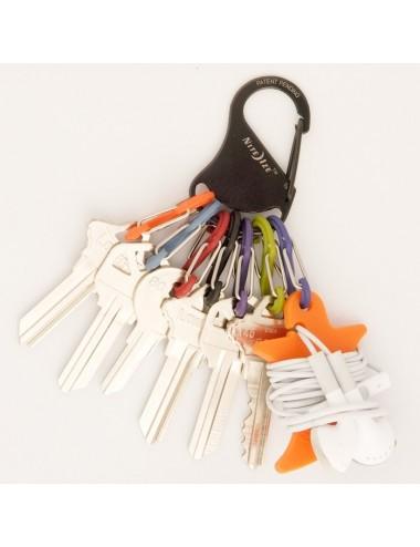 Brelok na klucze z karabińczykiem Nite Ize S-Biner KeyRack