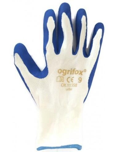 Rękawice lateks ox 11,558 – 1 opakowanie (12 par)