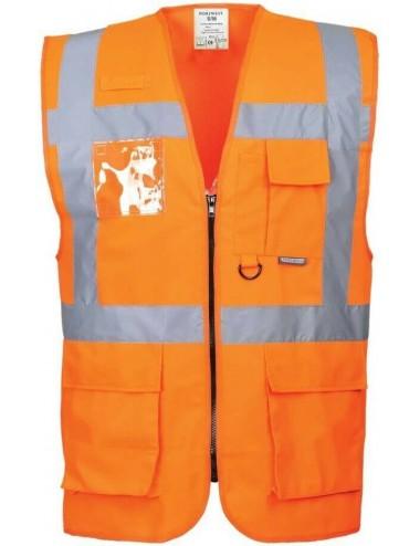 Portwest S476 kamizelka ostrzegawcza pomarańczowa
