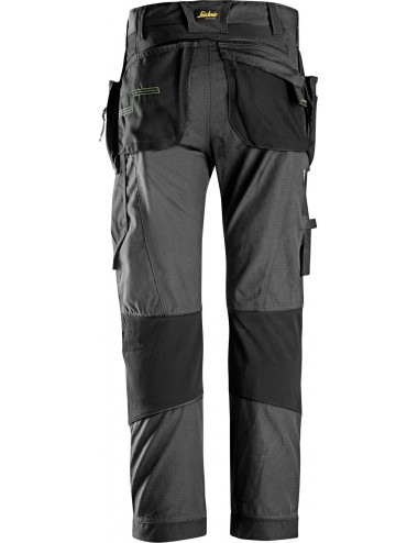 Snickers spodnie robocze FlexiWork+ 6902 z workami kieszeniowymi
